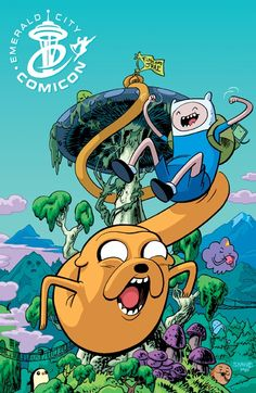 Adventure Time, one of my favorite cartoons these days.