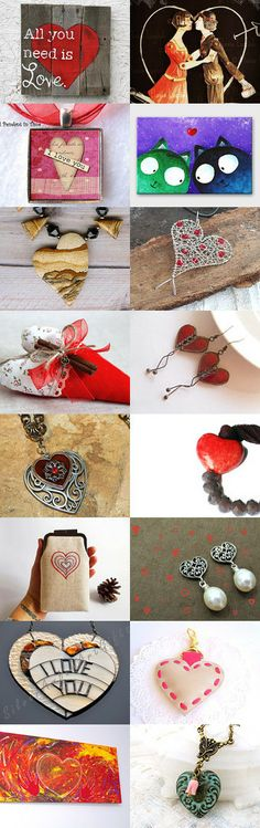 Be my Valentine by Rosy on Etsy--Pinned with TreasuryPin.com