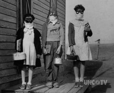 Halloween in the Dust Bowl.