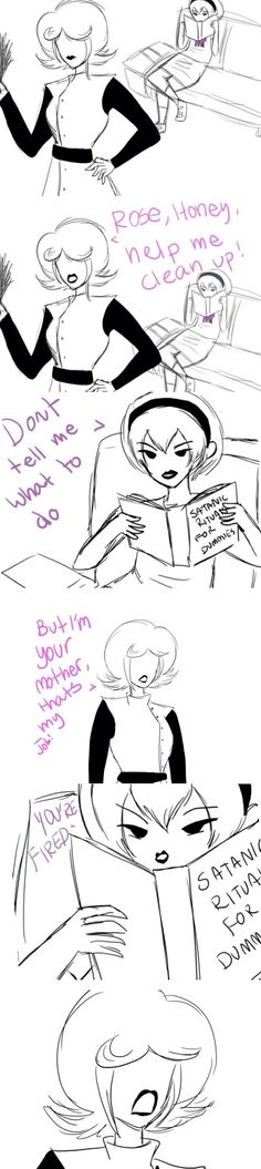 Did anyone else look at the book Rose is reading? 0-0 XD