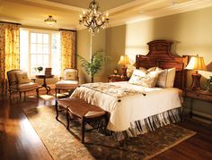 Ford Custom Classic Homes - Natural light in bedroom