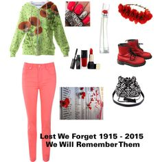 ANZAC Day Outfit - Lest We Forget