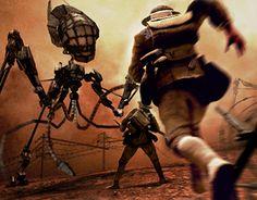 Bekijk dit @Behance-project: \u201cThe Great Martian War\u201d https://www.behance.net/gallery/19018483/The-Great-Martian-War
