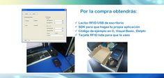 RFID Reader mifare Incluye