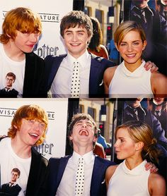 Psh. That is Ron, Harry and Hermione forever.