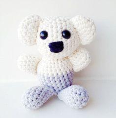 Crochet Koala Pattern  Instant Download by annemariesbreiblog