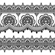 henna patterns - Google Search                                                                                                                                                                                 Más