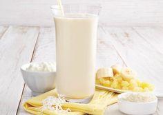 Our Piña Colada protein shake only tastes sinful!