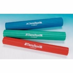 Thera-Band Flex Bars - LIGHT - Red by Theraband. $18.79. Thera-Band Flex Bars - LIGHT - Red Thera-Band Flex Bars Lightweight, portable exerciser specifically designed to improve grip strength and upper extremity function. 3 sizes available and levels of resistance progression available.