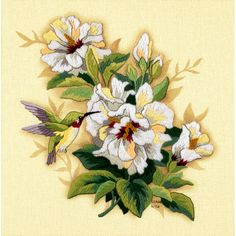 Dimensions® Crewel Embroidery Kit, Hibiscus Floral