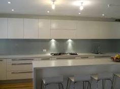 Image result for glass splashbacks kitchen