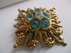 RARE Early Coro/ 1920's 30's Coro Brooch / Vintage by MaisonettedeMadness