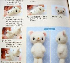 small cute things made of wool felt-japanese craft booklet | Flickr - Photo Sharing!