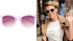 This spring's hot trends in sunglasses: Round, pastel, all black  #style