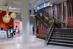 2015 Top 100 Giants: Rankings | Companies | Interior Design - Nature Photos Behind Glass Walls