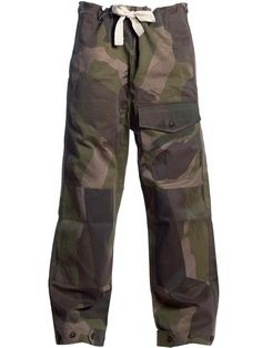 Camo Couture 08_Nigel Cabourn Mandalay Cape Cameraman CamoNigel Cabourn Men's Army Drill Work Trousers