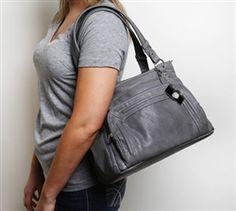 for meee Epiphanie Grey Ginger camera + iPad bag Ipad Bag, Leather Backpack, Purses, Grey, Slate, Laptops, Caramel, Bags, Gift Ideas