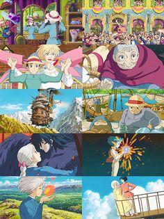 "Studio Ghibli ""My Neighbor Totoro"" Lightbox, Card, Wall Art Howl's Moving Castle, Studio Ghibli Art, Studio Ghibli Movies, Hayao Miyazaki, Manga Anime, Anime Art, Howl And Sophie, Animes On, Castle In The Sky"
