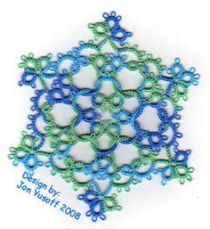 Tat-a-Renda: 'Quantiesque' Snowflake