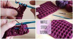 DIY Crochet Waffle Stitch Instructions | UsefulDIY.com