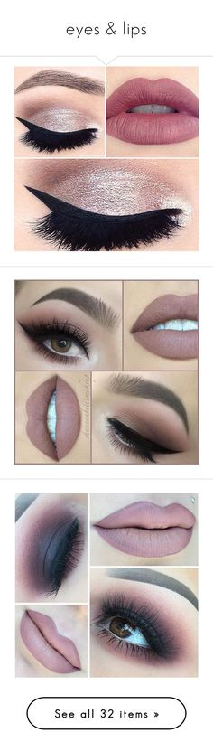 """eyes & lips"" by nnenna21 ❤ liked on Polyvore featuring beauty products, makeup, lips, eyes, palette makeup, tarte makeup, tarte, tarte cosmetics, beauty and eye makeup"
