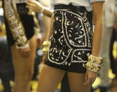 Olivier Rousteing for Balmain...The Black & Gold!