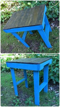 20 Unique Ideas to Use the Pallets Wood | Pallet Furniture DIY - Multi-Purpose Table like Garden patio table, pallet kitchen island table etc......