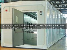 Containerized Prefabricated Electrical Shelters Venezuela. Subestaciones Electricas Prefabricadas de Media y Baja Tension Venezuela.