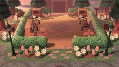 Best Indoor Garden Ideas for 2020 - Modern Animal Crossing 3ds, Animal Crossing Qr Codes Clothes, Brick Planter, Tree Bed, Ac New Leaf, Cedar Trees, Entrance Design, Animal Games, Island Design