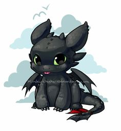 Toothless, so adorable!