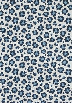 TRIXIE, Navy and Sky, W80419, Collection Woven 10: Menagerie from Thibaut