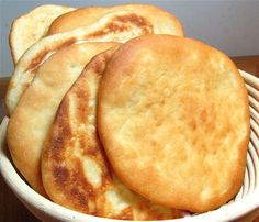 Golden Pita Bread: step-by-step directions and tips.