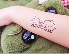 small elephant tattoos designs - Google Search