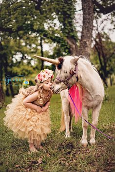 Unicorn Mini session, Your Candid Memories Photography, Child Portraits Dallas