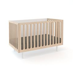 Oeuf Fawn Bassinet Crib #OEUF oeufnyc modern nursery kids rooms furniture interior design family baby nurseries cribs inspiration