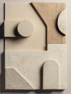 Sculptures Céramiques, Sculpture Art, Room Wall Painting, Wall Art, Ceramic Tableware, Diy Furniture Projects, Abstract Canvas Art, Texture Art, E Design