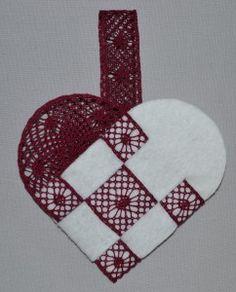DSC_0709 Lace Heart, Lace Jewelry, Lace Making, Bobbin Lace, Xmas, Christmas, Yule, Lace Detail, Butterfly