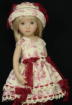"**CHILDREN PLAYING 2**For 13"" Dianna Effner Little Darling Dolls By Melanie"