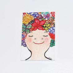 En Flor/Blooming Blank Notebook