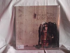 PEARL JAM - LOST DOGS USA LP - #2 OF #2 - SEALED &OOP! RARE!