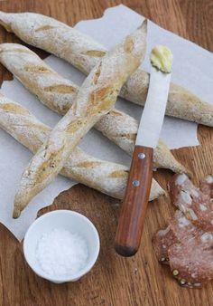 Rezept mit Bild für Mini-Baguette-Stangen