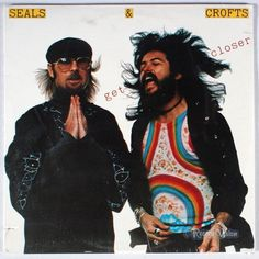 This is Seals & Croft Get Closer vinyl record album. The pictures are of the album cover. It is recorded on Warner Brothers Record Label 2907 in Seals And Crofts, Top 10 Hits, Busta Rhymes, Billboard Hot 100, Band Posters, She Song, Summer Breeze, Pop Rocks, Great Bands