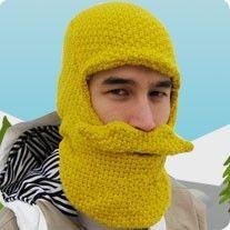 Moustache Balaclava