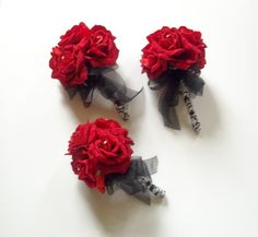 Hey, I found this really awesome Etsy listing at http://www.etsy.com/listing/93897596/floral-package-red-rose-bridal-bouquet