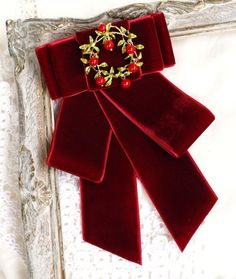 Burgundy Bow Tie, Burgundy Color, Velvet Bow Tie, Red Velvet, Sister Gifts, Gifts For Mom, Selling Handmade Items, Music Jewelry, Textile Jewelry