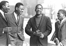 The John Coltrane Quartet Elvin Jones, McCoy Tyner, John Coltrane and Jimmy Garrison Jazz Artists, Jazz Musicians, Music Artists, Alice Coltrane, Jazz Radio, Ivy League Style, Free Jazz, Ivy Style, Vintage Black Glamour