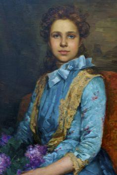 https://flic.kr/p/s8sEa1 | Portrait of Laura Sauvinet (1888) - José Malhoa (1855 - 1933) | Museu José Malhoa, Caldas da Rainha, Portugal José Vital Branco Malhoa (Caldas da Rainha, 28 de abril de 1855 – Figueiró dos Vinhos, 26 de outubro de 1933) foi um pintor, desenhista e professor português. BIOGRAFIA José Vital Branco Malhoa nasceu em Caldas da Rainha, na Região do Centro de Portugal, em 28 de abril de 1855. Com apenas 12 anos entrou para a escola da Real Academia de Belas-Artes de ...