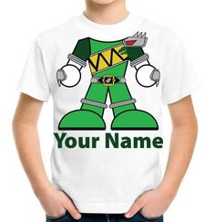 Green Dino Charge Power Ranger