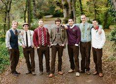 These boys are a rustic barn party waiting to happen!  Love the style.