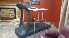 DIY Treadmill desk o